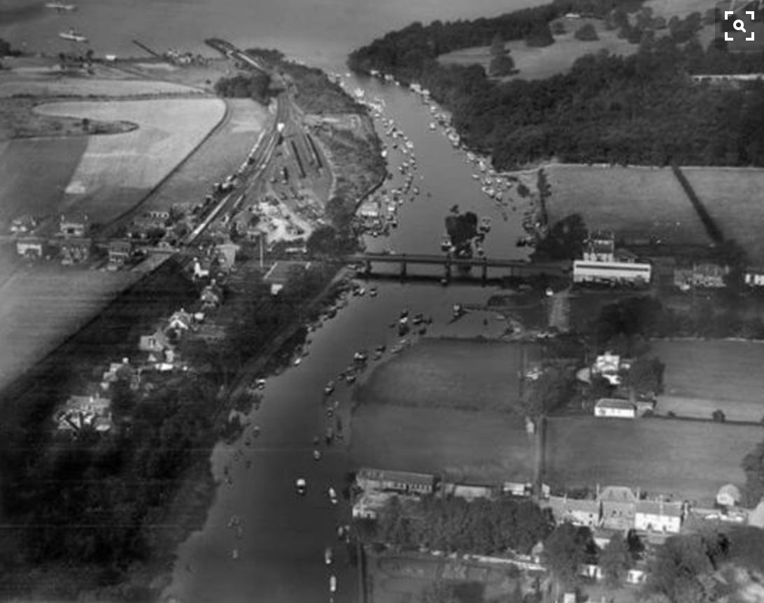 Aerial view of Balloch in 1927
