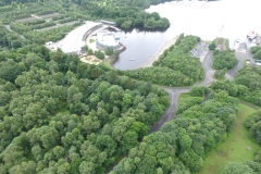 Aerial view of Lomond Shores
